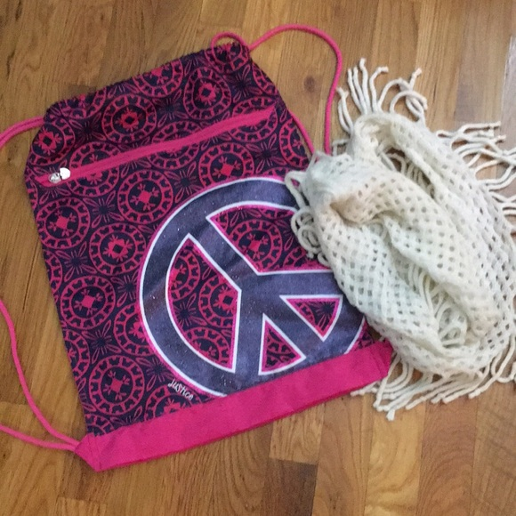 Justice Other - Justice Bag & Infinity Scarf